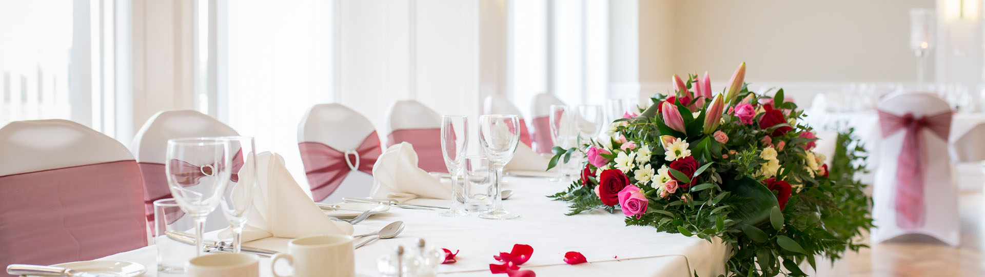 The Pavilion - Wedding Packages